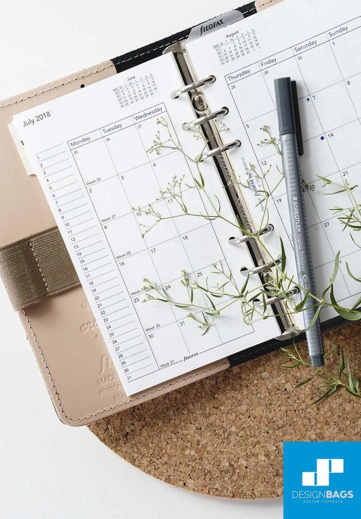 Planificador de eventos: organización y materiales - Design Bags
