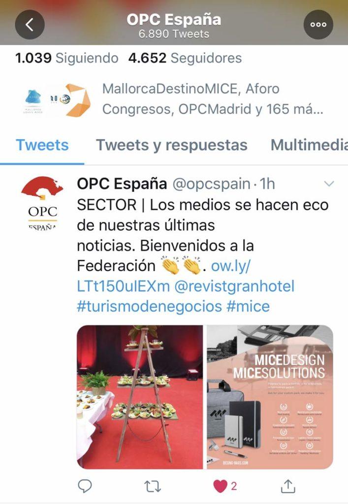 Design Bags forma parte de la OPC España - Design Bags