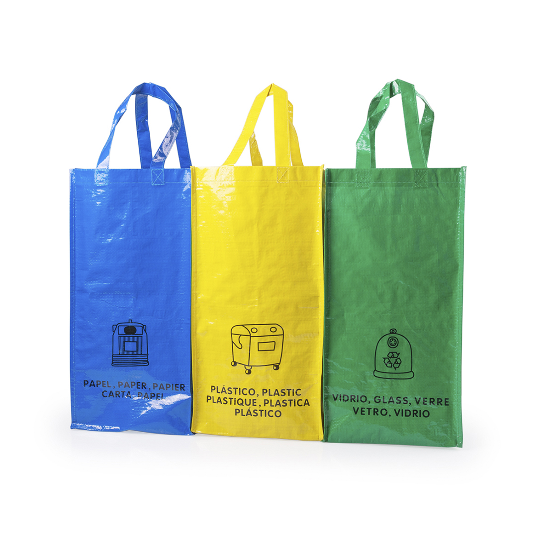 11164264 Set Of 3 Recycling Bags