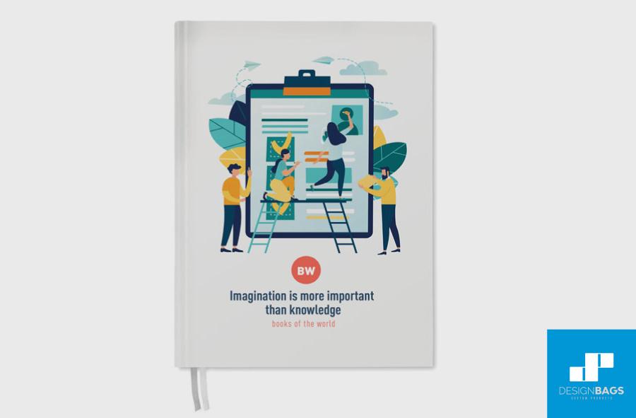 Ejemplo de agendas personalizadas en Design Bags