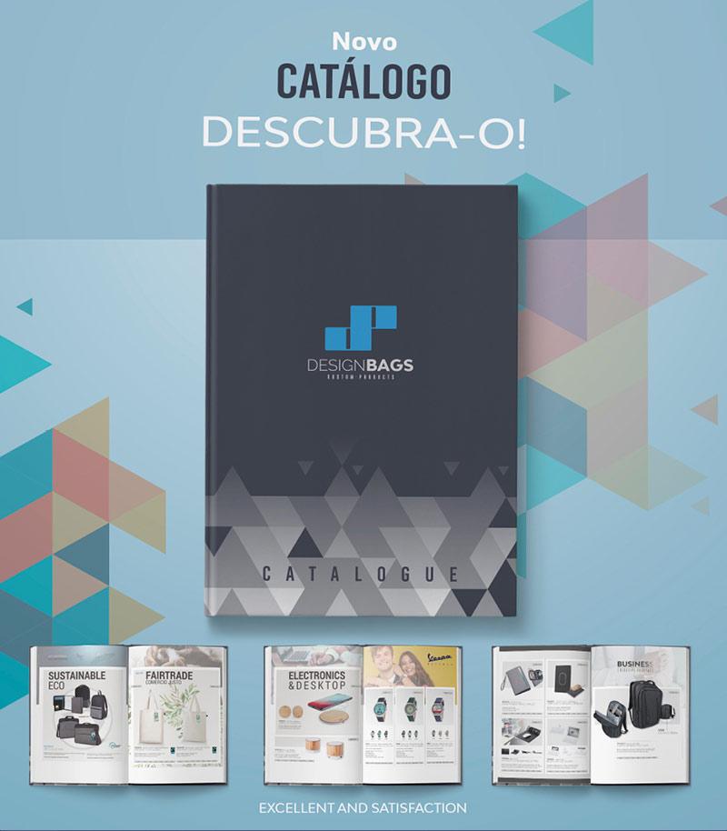 Novo catálogo de Design Bags