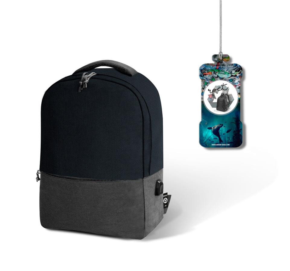 La mochila rPET de comercio sostenible para dar en tus actividades