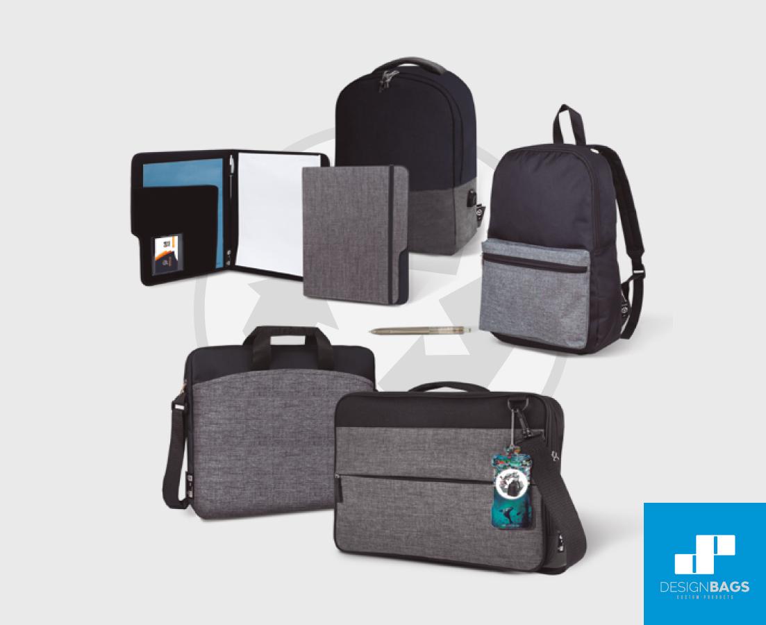Comercio sostenible para tus actividades con la colección rPET de Design Bags