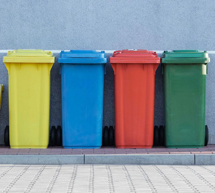 El reciclaje es un elemento imprescindible para que un evento sea sostenible