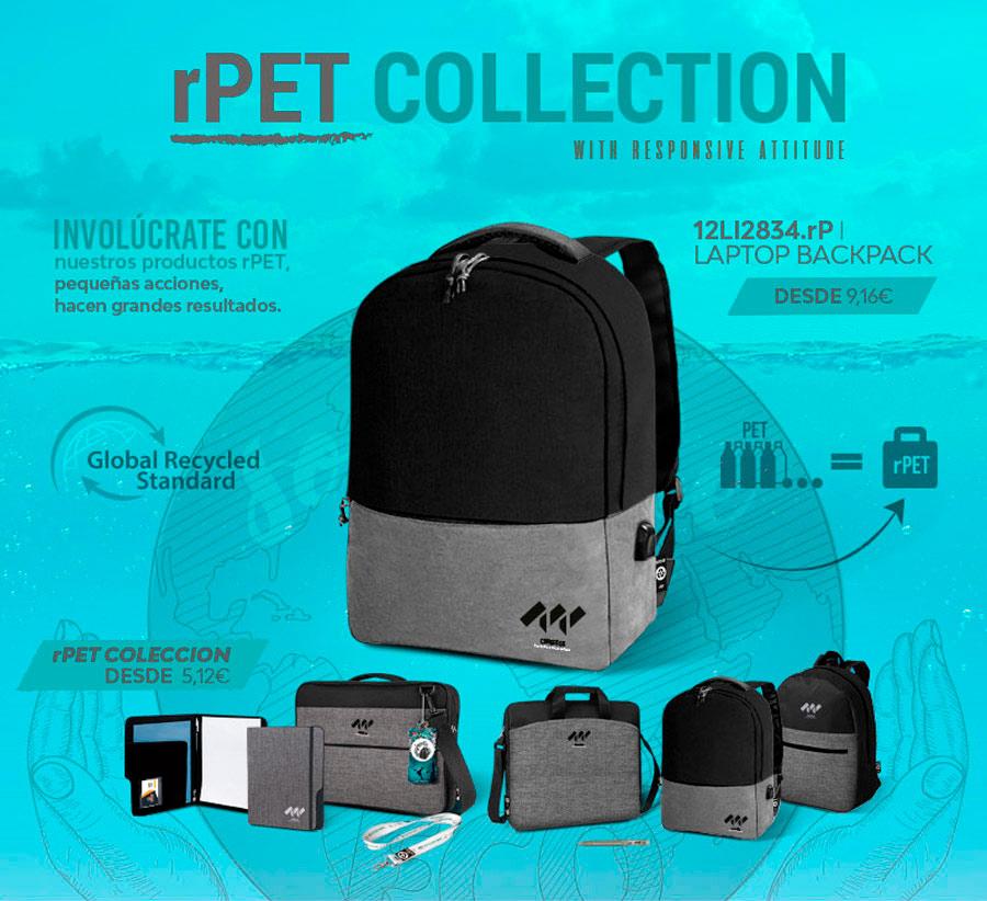 Reserva tus productos rPET gracias a las medidas de Design Bags