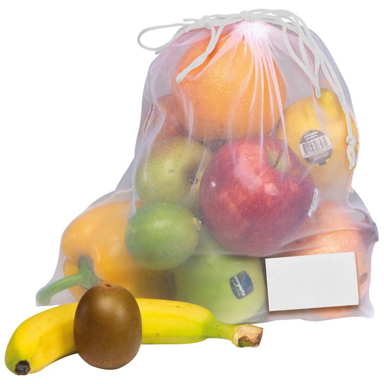 Bolsa red rPET para la protección de tus alimentos