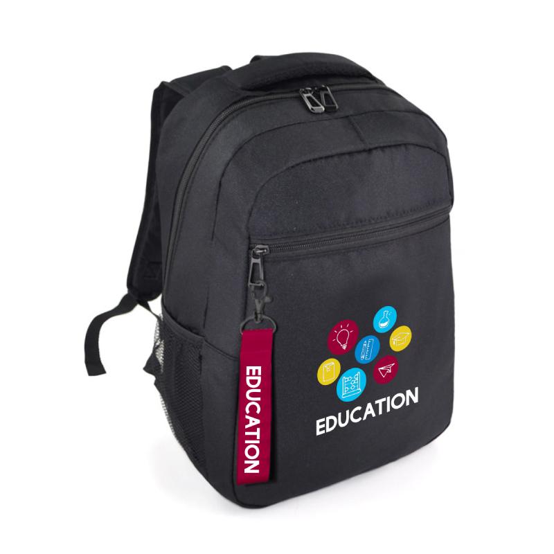 Mochila personalizada para dar como material de soporte a los alumnos