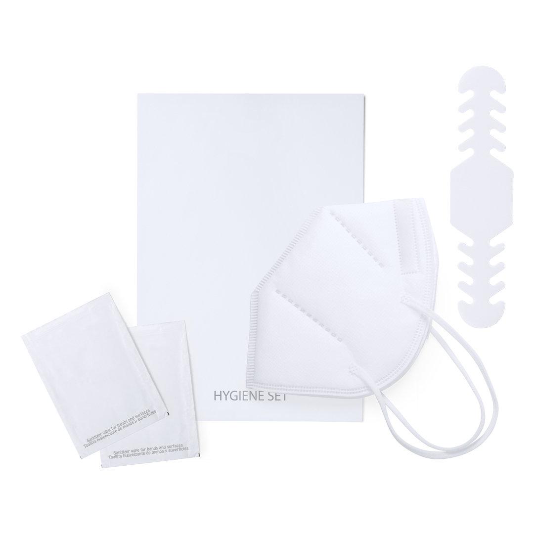 kit de protección con mascarilla KN95