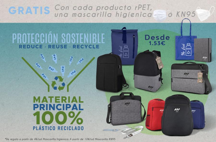 Promoción de protección y sostenibilidad para tu actividad