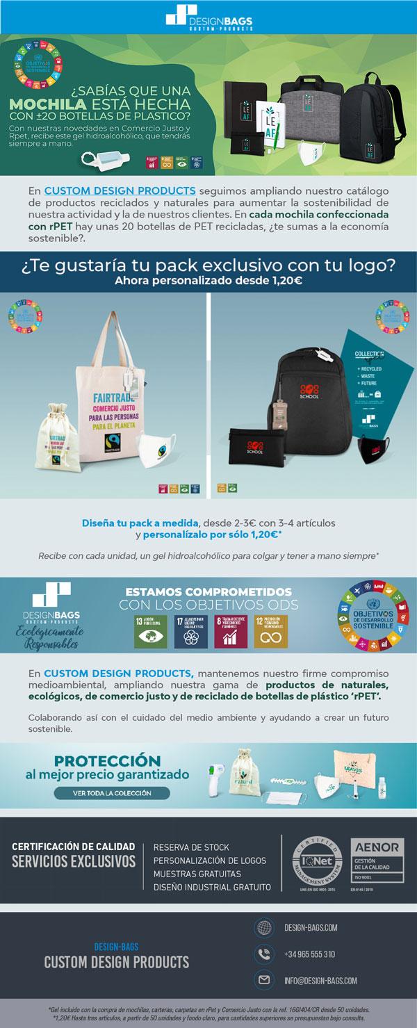 Promoción para aumentar la sostenibilidad en tus actividades y eventos