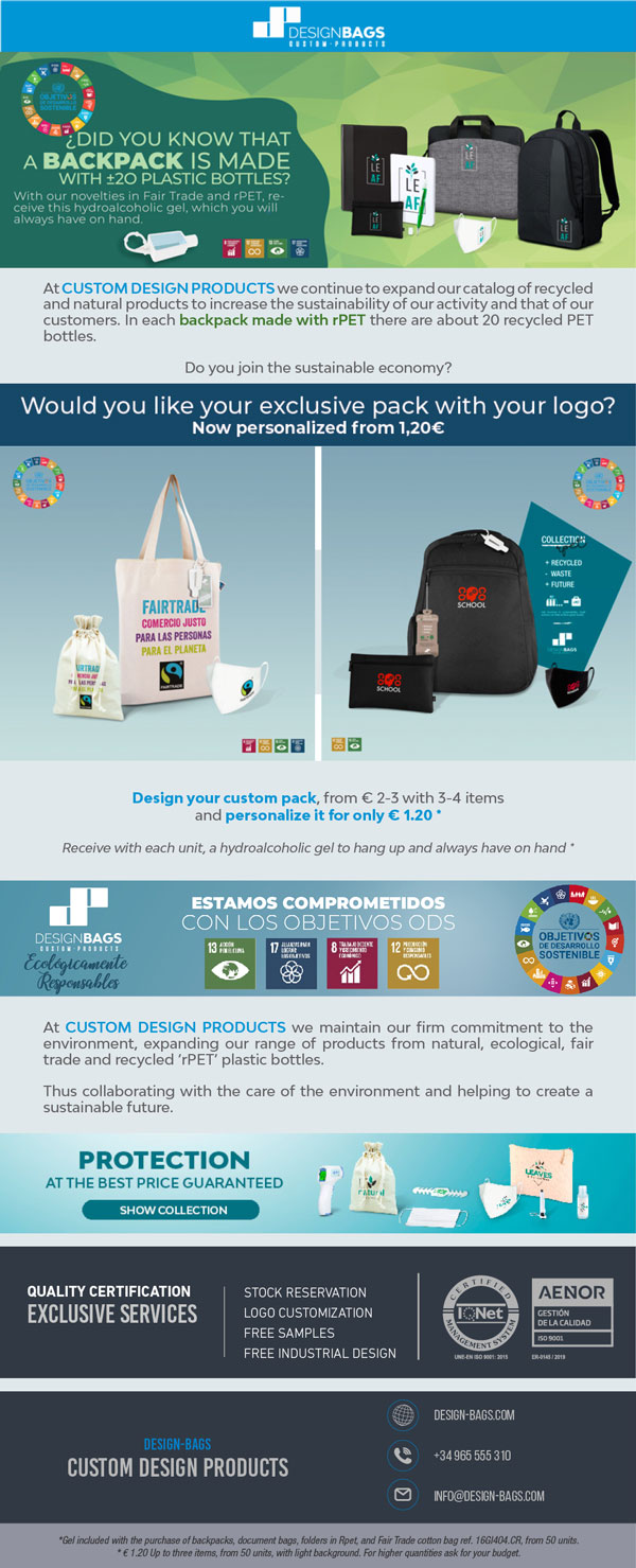 Increase sustainability in your activities with this promotion