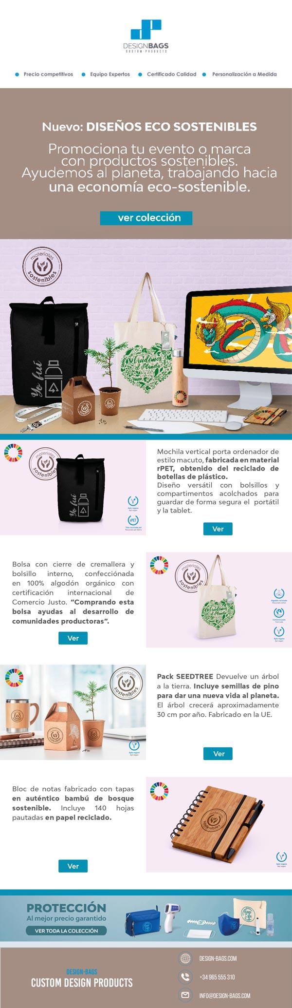 Nuevo boletín de productos sostenibles