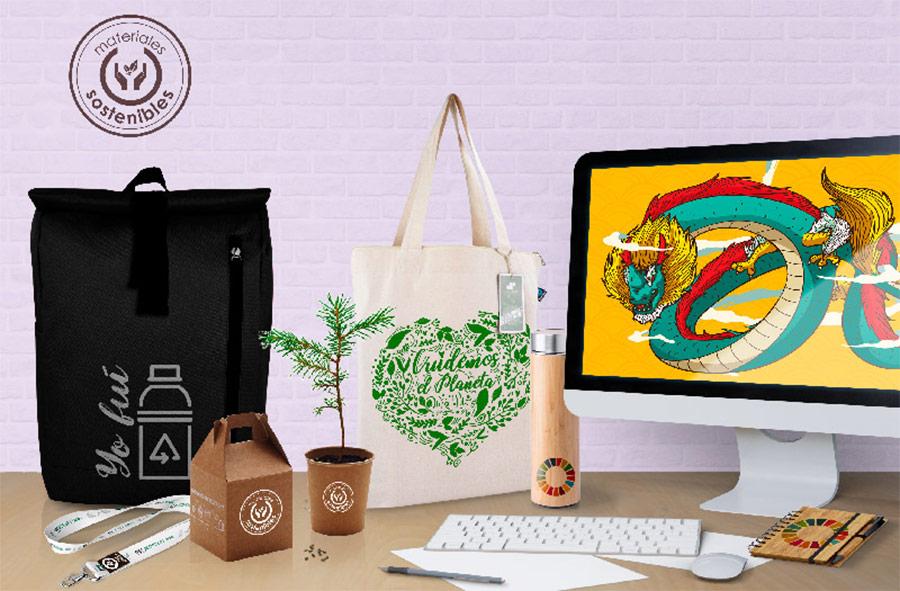 Promociona tu evento o marca con productos sostenibles