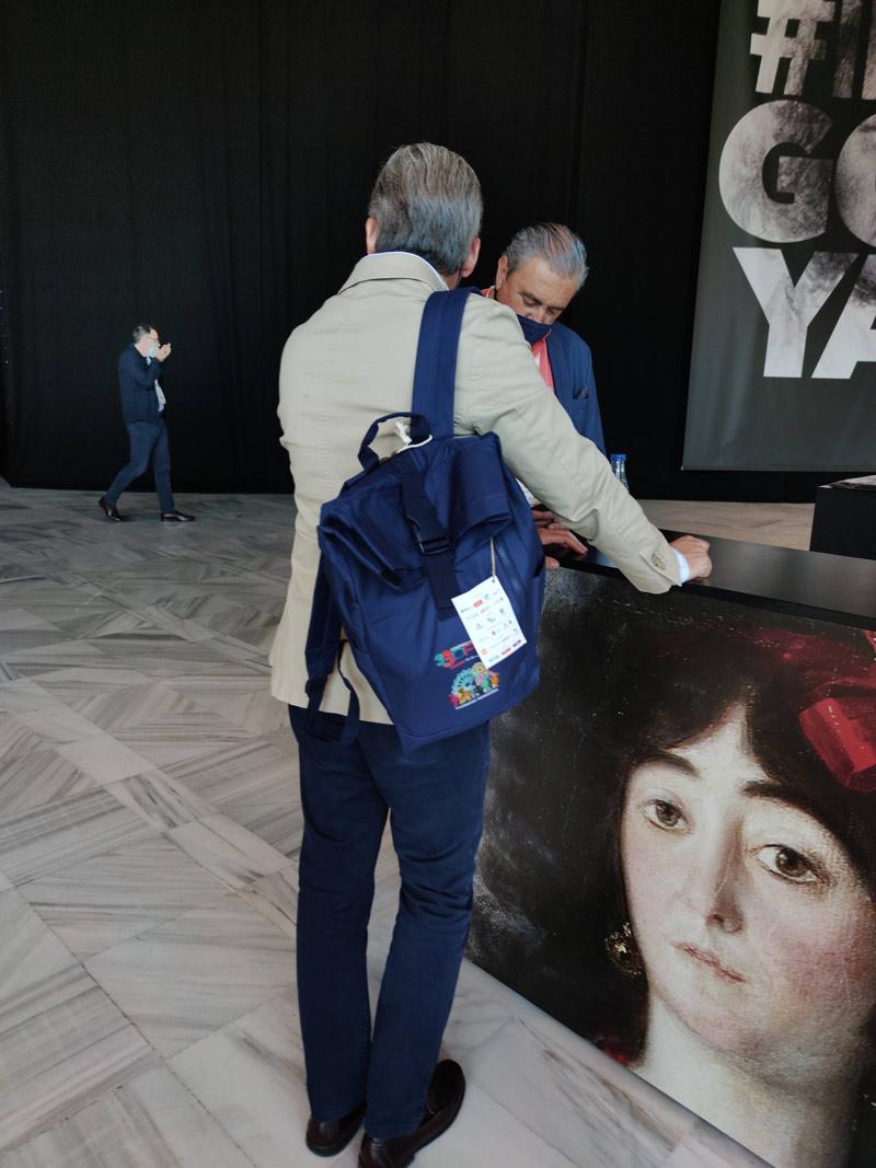 Welcome pack de Custom Design Bags para el congreso de OPC
