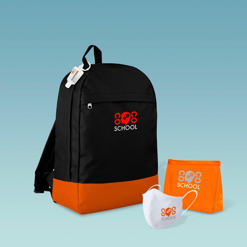 Welcome pack con mochila